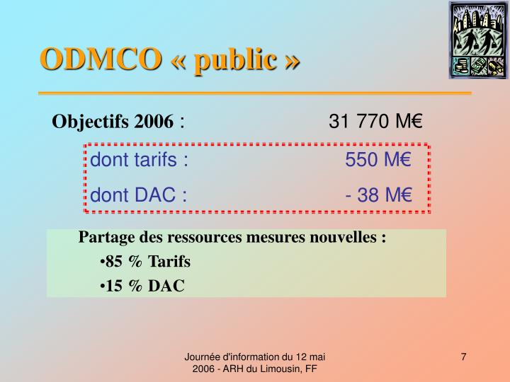 ODMCO «public»