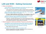 lan and wan getting connected