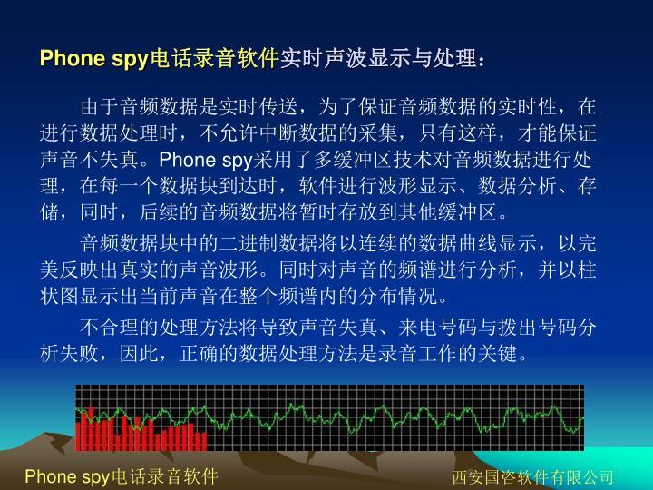 Phone spy