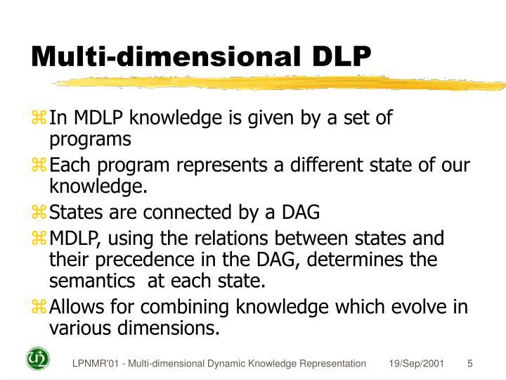 Multi-dimensional DLP