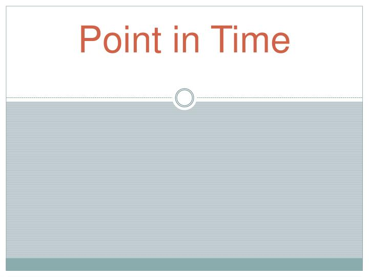 point in time n.