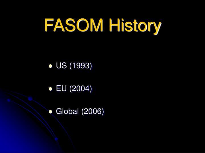 FASOM History