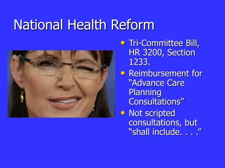 National Health Reform