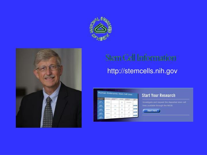 http://stemcells.nih.gov