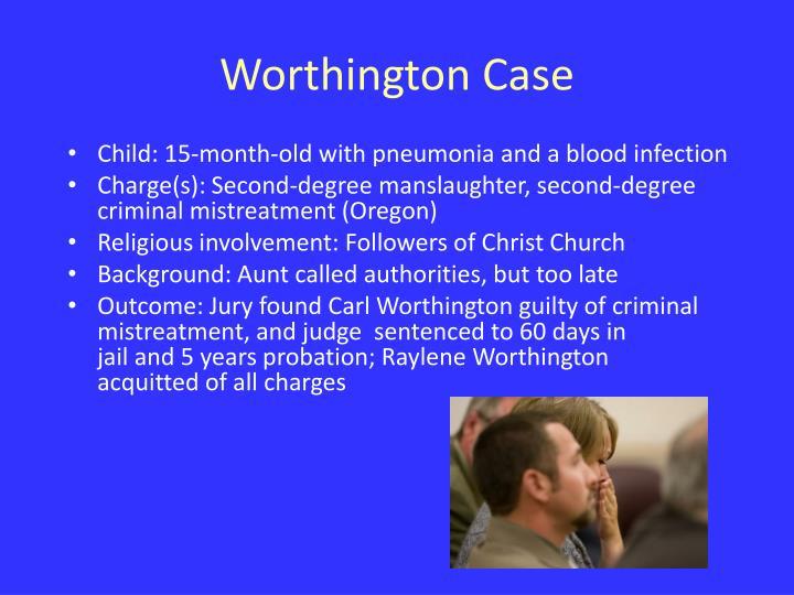 Worthington Case