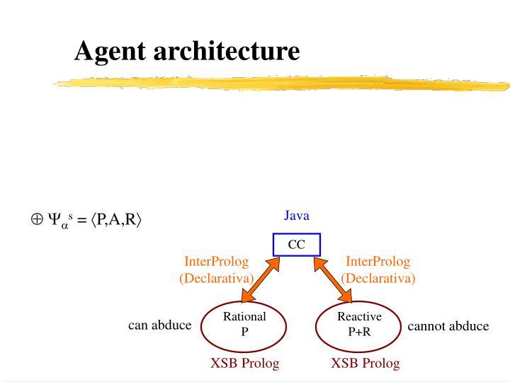 Agent architecture