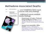methadone associated deaths1