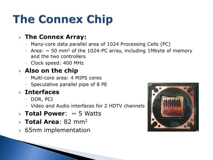 The connex chip