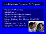collaborative agencies programs