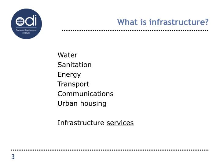 What is infrastructure