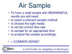 air sample1