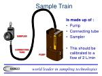 sample train