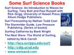 some surf science books