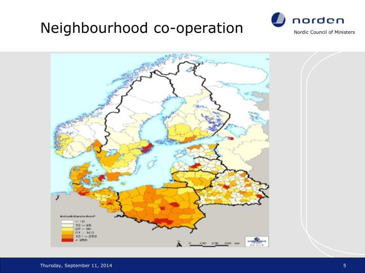 Neighbourhood co-operation