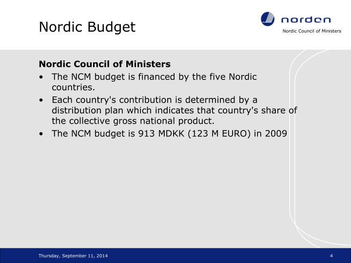 Nordic Budget