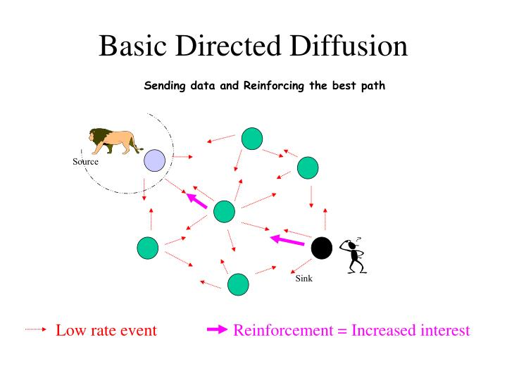 Basic Directed Diffusion