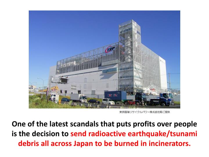 One of the latest scandals that puts profits over people is the decision to