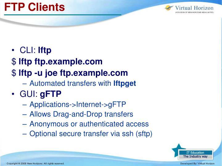 FTP Clients