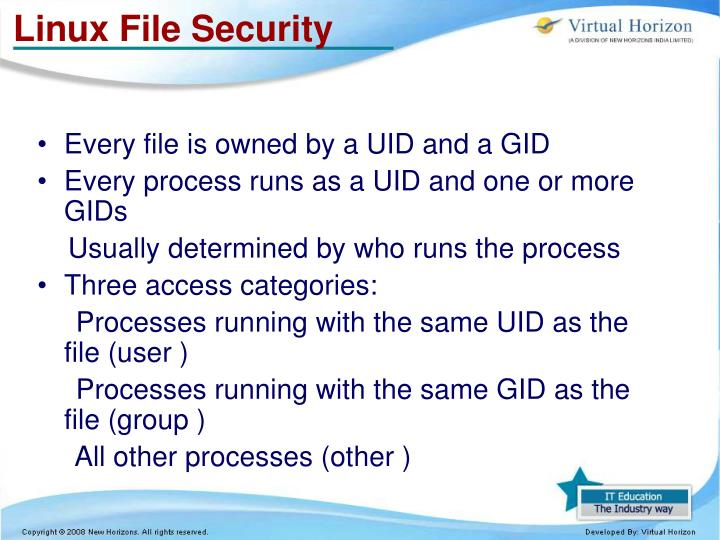 Linux File Security