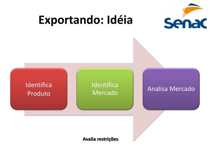 Exportando: