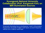 kyungpook national university collaboration prof kangwook kim on mir illumination sources