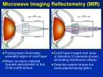 microwave imaging reflectometry mir