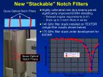 new stackable notch filters