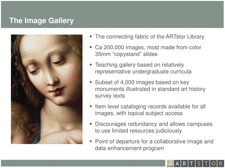 The Image Gallery