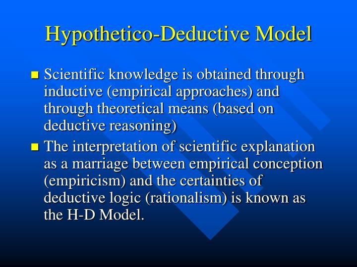 Hypothetico-Deductive Model