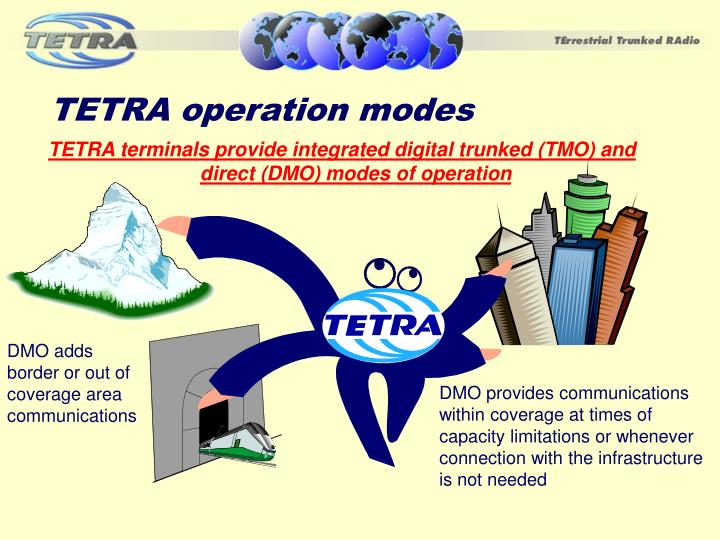 TETRA operation modes