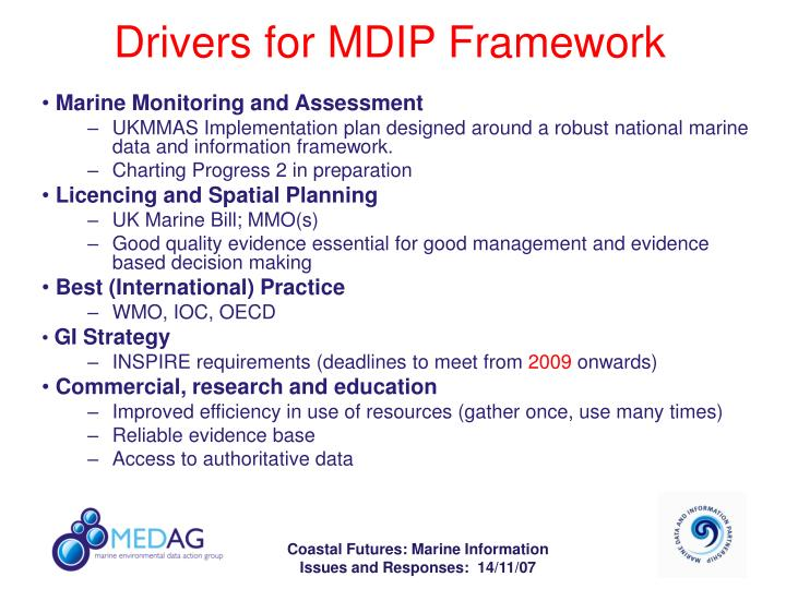 Drivers for MDIP Framework