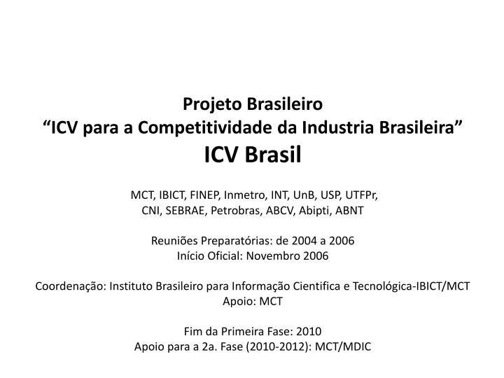 Projeto Brasileiro