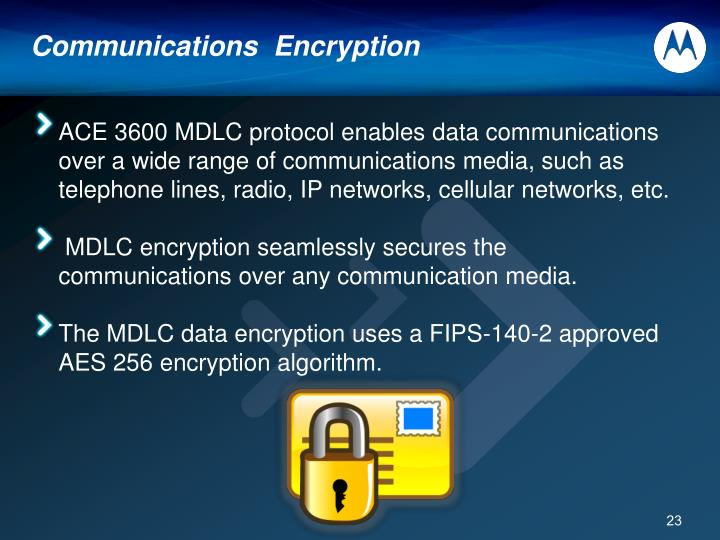 Communications  Encryption
