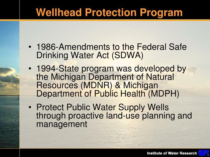 Wellhead Protection Program
