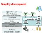 simplify development1