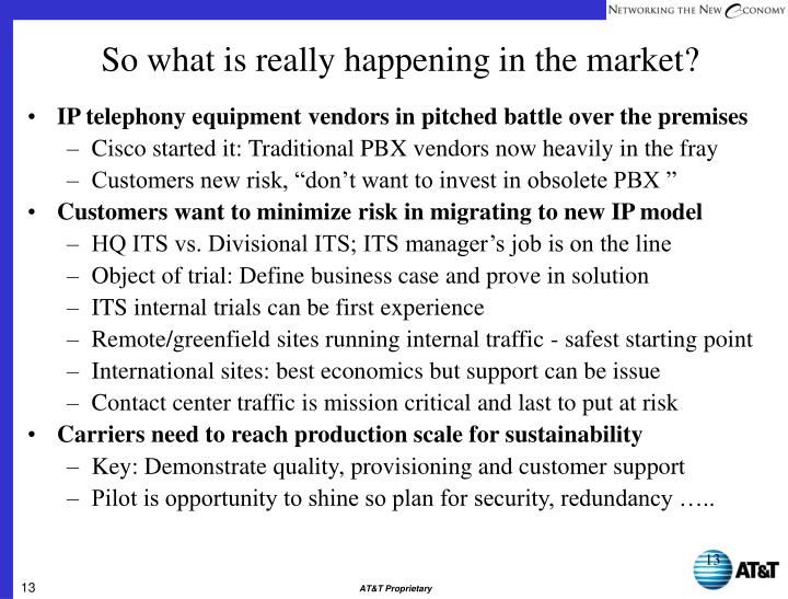 IP telephony equipment vendors in pitched battle over the premises