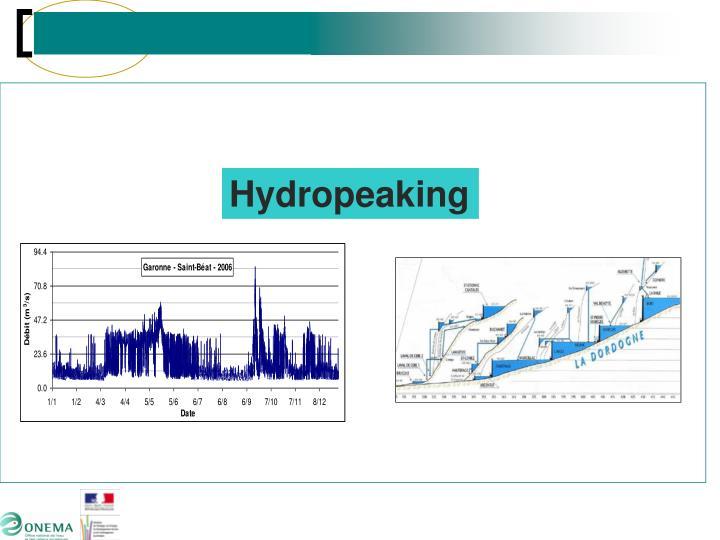 Hydropeaking