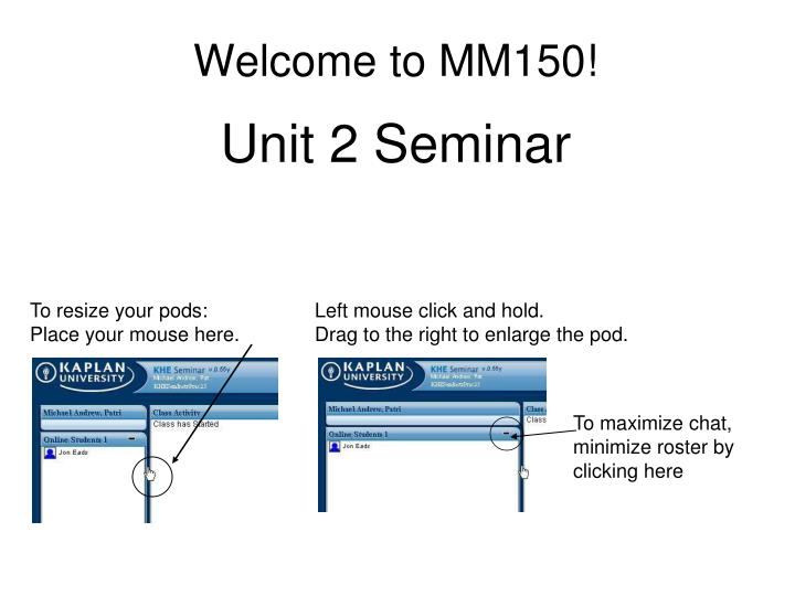 welcome to mm150