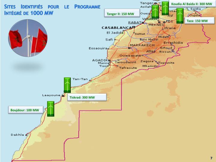 Koudia Al Baida II: 300 MW