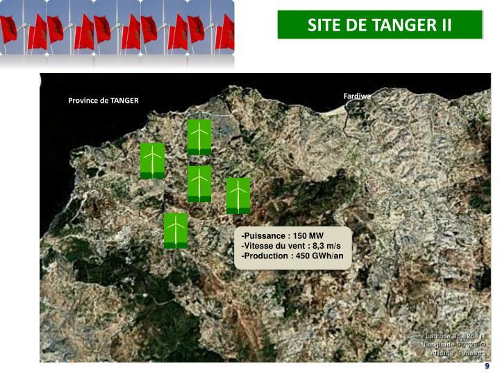 SITE DE TANGER II