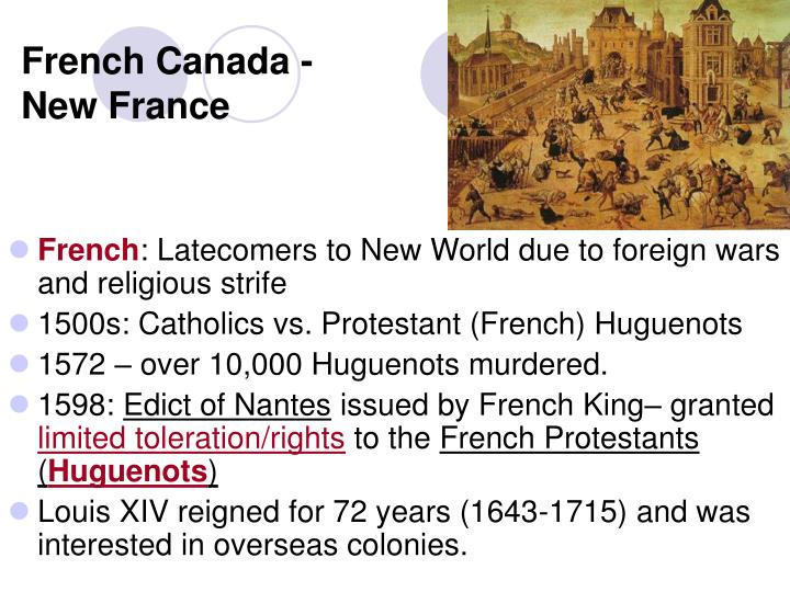 French canada new france