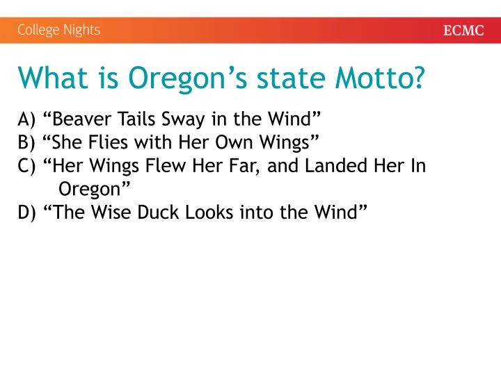 What is Oregon