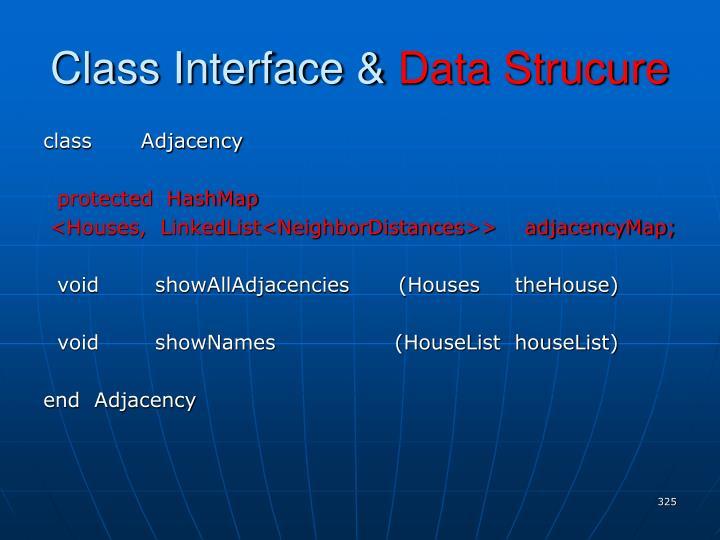 Class Interface &