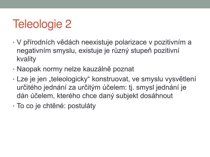 Teleologie 2