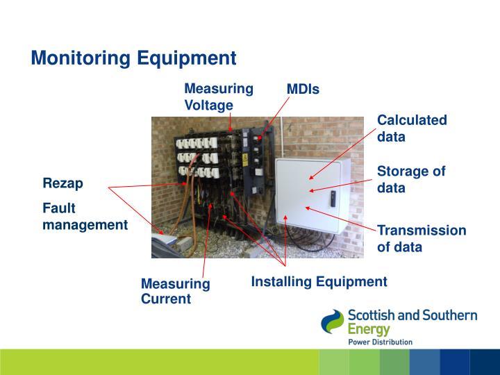 Monitoring Equipment