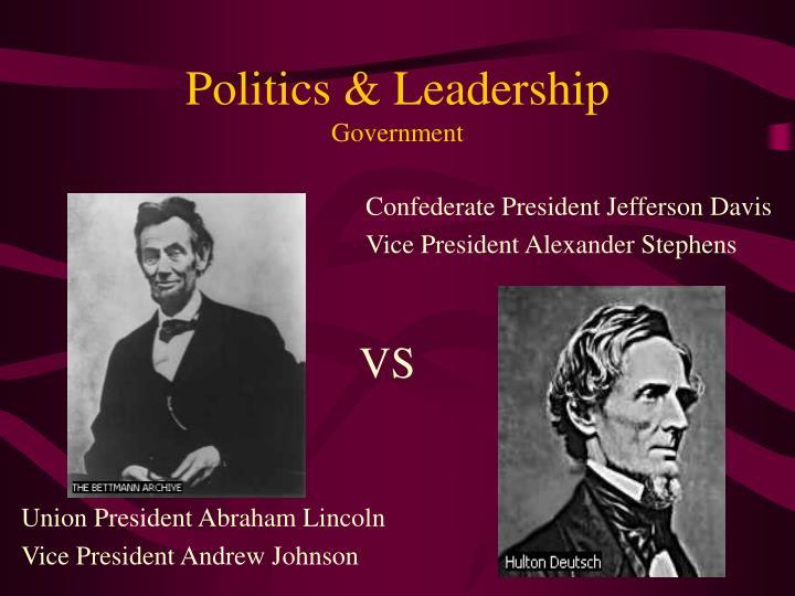 Politics & Leadership