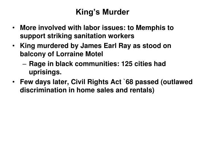 King's Murder