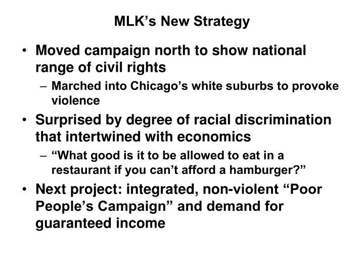 MLK's New Strategy