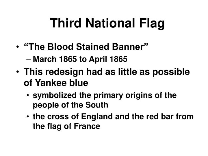 Third National Flag