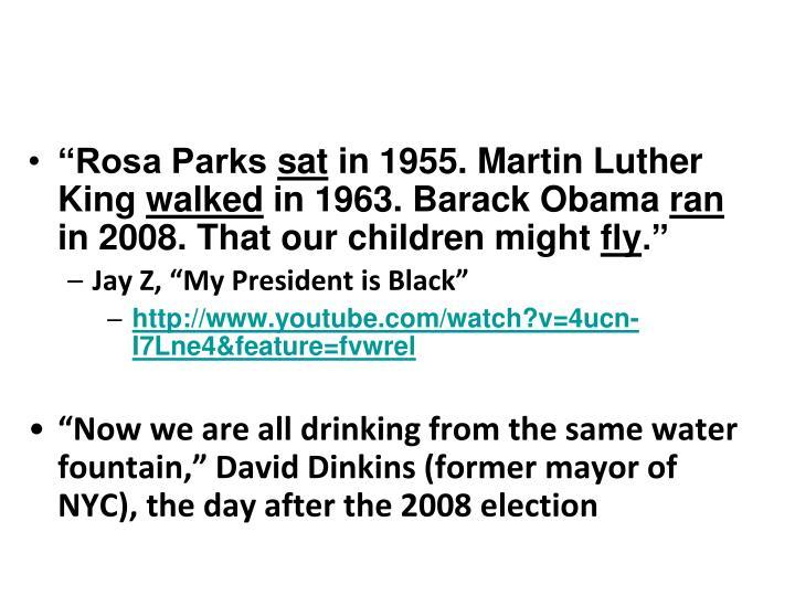 """""""Rosa Parks"""